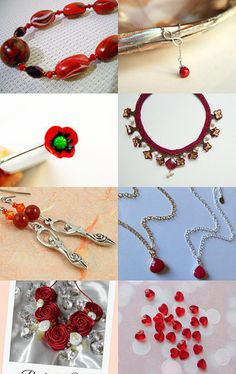 Firey Colours  by MimsyJewellery on Etsy--Pinned with TreasuryPin.com