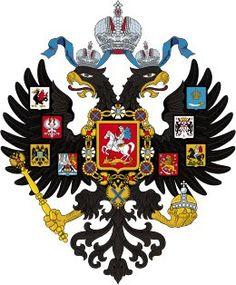 Dit is het familiewapen van de familie Romanov