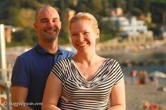 Happy Viaggi di Gusto travelers at Cinque Terre, Italy
