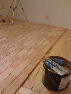 Endgrain Floor - Made from scratch #3: Getting things going... - by Thomas Porter @ LumberJocks.com ~ woodworking community