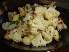 Roasted Garlic Cauliflower. #GottoBeNC Michelle Marsh says her sister has been raving about this recipe so she wanted to share it for that reason as well as the fact that cauliflower doesn't get much love. You'll love this recipe too