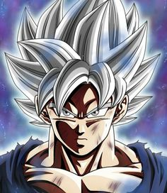 Goku ultra instinct by ZoeGamimg