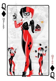 Harley Quinn Bomb Gun Card by PHOENIX8341.deviantart.com on @deviantART