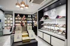 Charbonnel et Walker chocolate store by CADA Design London UK