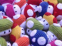 Sleutelhanger  Mario Bros Toads