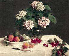 Henri Fantin Art (Page of Henri Fantin Latour, Fruit Flowers, Summer Flowers, Rose In A Glass, Toledo Museum Of Art, Still Life Images, Still Life Fruit, Painting Still Life, Pastel