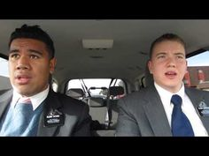▶ Missionaries Lip-Singing- Jesus Loves Me. Fun put a smile on your face video.