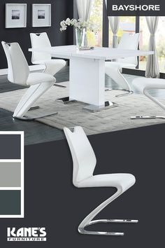 Z Shaped High Chair Back Office Slipcovers 97 Best Contemporary Images In 2019 Diners Dining Room Sets Kane Bayshore Brings You Sophisticated The Chairs Are An Instant Conversation