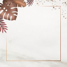 Blank square leafy golden frame | premium image by rawpixel.com / marinemynt #picture #photography #inspiration #photo #art #frame #marble Flower Background Wallpaper, Frame Background, Background Pictures, Flower Backgrounds, Background Patterns, Wallpaper Backgrounds, Pastel Wallpaper, Cute Instagram Captions, Instagram Frame
