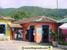 Vila do Abraao - Ilha Grande - Brasil