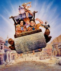 The Flintstones by Drew Struzan