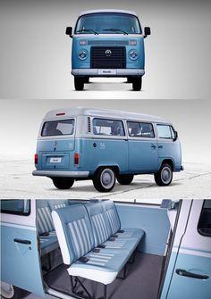 Volkswagen Bus - Last edition Volkswagen Transporter, Volkswagen Bus, Vw Camper, Vw Kombi Van, Vw Bus T2, Kombi Home, Vw T1, Golf 5 Tuning, Kombi Last Edition