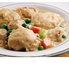 Heart Healthy Recipes - Old Fashioned Chicken & Dumplings