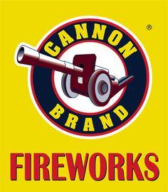 Cannon Fireworks 7' x 7' Vinyl Logo Sign | eBay