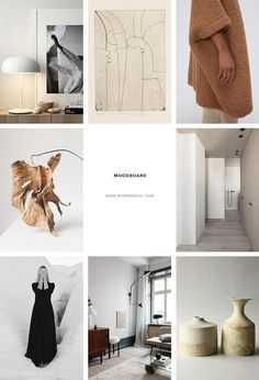 Home Design Drawing Inspiration moodboard curated by Eleni Psyllaki for My Paradissi - Inspiration moodboard curated by Eleni Psyllaki for My Paradissi Web Design, Design Case, House Design, Interior Design Website, Office Interior Design, U2 Poster, Best Office, Small Office, Travel Book Layout