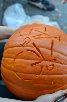 by Clint   It's pumpkin season. We thought it would be fun to have a pumpkin carving contest. The staff here carved a couple of pumpkins ...