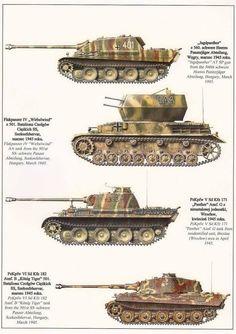 Deutsche Panzerwaffe WW 2