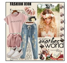 """""""Shein 9/VII"""" by merima-p ❤ liked on Polyvore featuring Rock 'N Rose and Gucci"""