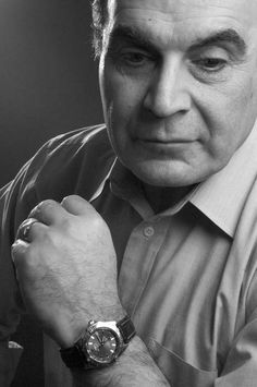 """David Suchet CBE is an English actor, best known for his work on British television as Agatha Christie's detective Hercule Poirot. David Suchet has been in so many other things, remember him in """"Harry and the Hendersons?"""""""
