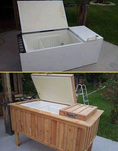 If you are looking for smart idea for backyard repurposing projects, here is the right choice for you. A non working old fridge can be given new life. This DIY lets you transform old refrigerator becoming a non electrical igloo cooler by stripping down the base components. The result is NOT a functioning refrigerator; It […]