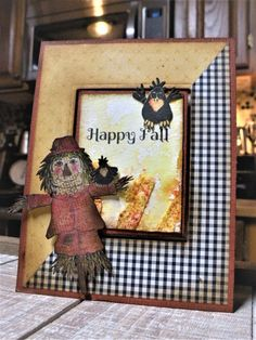 FS713 Scarecrow Wishes by nwilliams6 -FS Hostess at Splitcoaststampers You Are Next, Are You Happy, Fall Scarecrows, I Love Someone, Old Stamps, Texture Paste, Christmas Challenge, Fine Paper, Fall Cards