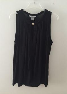 Kup mój przedmiot na #vintedpl http://www.vinted.pl/damska-odziez/koszulki-na-ramiaczkach-koszulki-bez-rekawow/12674435-czarny-top-bluzeczka-nowa-ozdobna-koszulka-hm