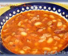 Fasolka po bretońsku Polish Recipes, Polish Food, Chana Masala, Soups And Stews, Cheeseburger Chowder, Pizza, Cooking Recipes, Eat, Ethnic Recipes