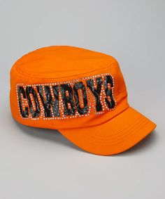 This Oklahoma State Cowboys Cadet Cap is perfect! #zulilyfinds