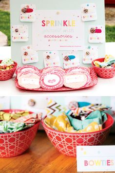 Sprinkled with Love Birthday Party // Hostess with the Mostess®