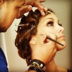 #fashion #gastby #retrolook #vintage #samygicherman #carolinatejera #waves #pincurls #miamifashion #pinuplook #makeup #cesarrosario #makeupartist #editorial #fashioneditorial #headpiece #stylist #updos #mac #paulmitchell