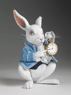 Nivens MCTWisp - The White Rabbit - Disney's Alice in Wonderland - Tonner Doll Company