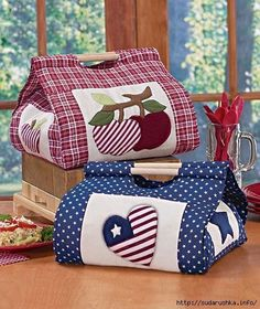 Tuto for the realization of this beautiful basket - Diy Fabric Basket Fabric Crafts, Sewing Crafts, Sewing Projects, Projects To Try, Casserole Carrier, Lakeside Collection, Fabric Bags, Mug Rugs, Learn To Sew