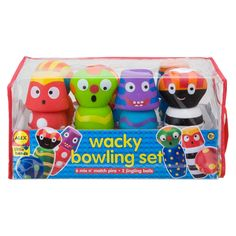 ALEX Toys Wacky Bowling Set Alex Toys, Art Easel, Toddler Art, Sports Toys, Early Learning, Bowling, Cool Gifts, Toy Chest, More Fun