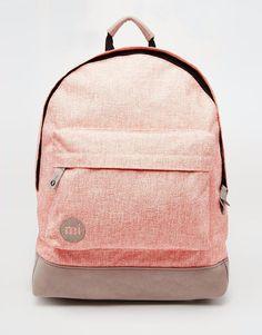 Mi-Pac+Backpack+in+Pastel+Coral