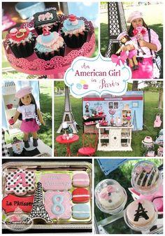 An American Girl in Paris Patisserie Party Ideas ~ Lynlee's