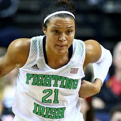 Kayla McBride was named an AP All-American and the ACC player of the year this season.NCAA College Women's Basketball