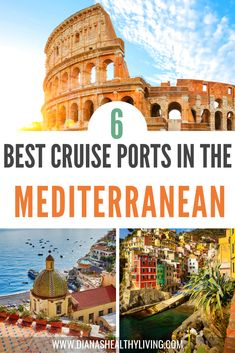 Are you planning a Mediterranean Cruise and looking for the best cruise ports to visit? Here are the top 6 best cruise ports to visit in the Mediterranean. One of the best cruise itineraries in the Mediterranean with Norwegian Cruise Lines. #mediterranean #cruise #medcruise #europe #nclcruise