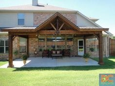 Pergola For Small Backyard Key: 7077684043 Diy Pergola, Pergola Design, Pergola With Roof, Patio Roof, Gazebo, Pergola Ideas, Pergola Cover, Pergola Swing, Pergola Shade