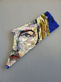 My mosaic face by BaileyWho?, via Flickr
