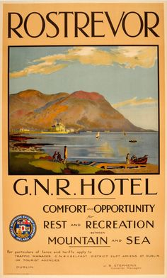N.I. - Rostrevor in County Down in Northern Ireland [x]