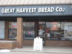 Great Harvest Bread Company i think in LEX KY. sooo goood!!!
