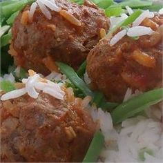 Slow Cooker Porcupine Meatballs With Peppers - Allrecipes.com