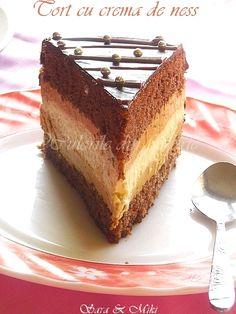 Sweets Recipes, Cake Recipes, Desserts, Food Cakes, Coffee Cake, Nutella, Tiramisu, Cheesecake, Plates