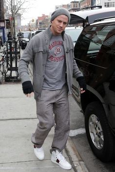 Channing Tatum is a Redskins fan!!!!!!  Just for you @Kim Brown