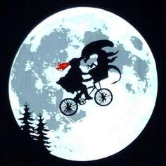 In a flying bicycle basket, almost no one can hear you scream