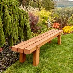How to Make Simple Timber Bench The Family Handyman Woodworking Projects, Woodworking Projects Diy, Woodworking Projects That Sell, Woodworking Projects For Kids, Woodworking Projects For Beginners, Woodworking Projects Plans, Woodworking Projects Furniture, Woodworking Projects Diy How To Make. #woodworkingprojects Woodworking Furniture Plans, Woodworking Projects That Sell, Woodworking Crafts, Woodworking Shop, Diy Furniture, Woodworking Videos, Popular Woodworking, Woodworking Classes, Sketchup Woodworking