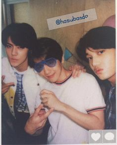 Baekhyun, Kai, Sehun - 151003 Official EXO-L Japan Book Vol.2 Credit: hasubando.