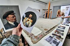 A pupil of The School of Arts Nr 206 in St. Petersburg played and suddenly broke the portrait of Lenin. The teachers were astonished to find another painting hidden under Lenin's portrait, that was a portrait of Nikolay II performed by Galkin. In 1924 a School's teacher decided to save the masterpiece and simply painted Lenin's portrait over the portrait of N II. Today Nikolay's portrait is restored and takes its place in the great hall of the School as previously. Empire, House Of Romanov, Tsar Nicholas Ii, Imperial Russia, The Masterpiece, Present Day, Art School, Royals, The Past