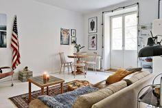 Un petit appartement au look vintage