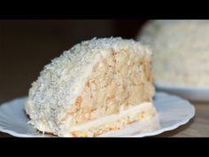 Торт Рафаэлло - рецепт приготовления | Raffaello Cake Recipe - YouTube